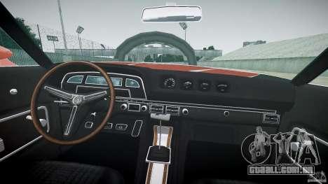Mercury Cyclone Spoiler 1970 para GTA 4 vista direita