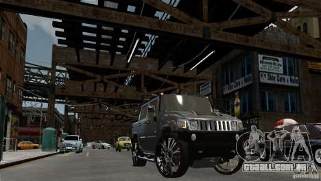 Hummer H2 SUT para GTA 4 vista direita