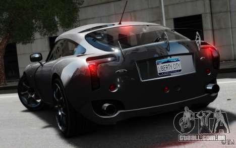 TVR Sagaris MKII v1.0 para GTA 4 esquerda vista