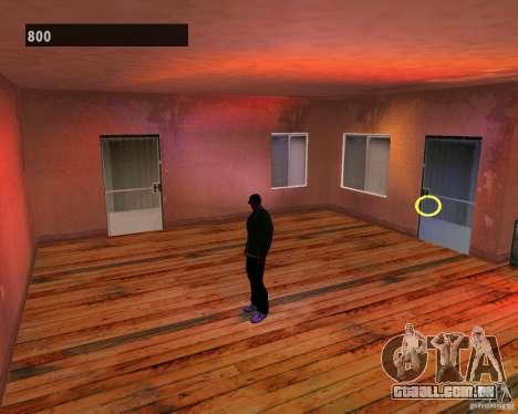 Interiores escondidos 3 para GTA San Andreas quinto tela