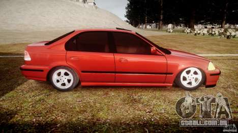 Honda Civic Vti para GTA 4 vista interior
