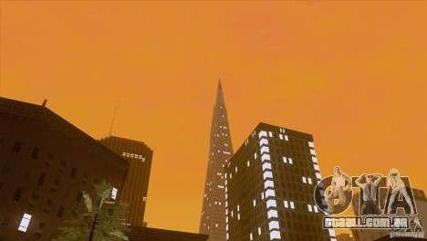 BM Timecyc v1.1 Real Sky para GTA San Andreas sexta tela