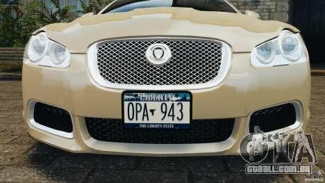 Jaguar XFR 2010 v2.0 para GTA 4 rodas