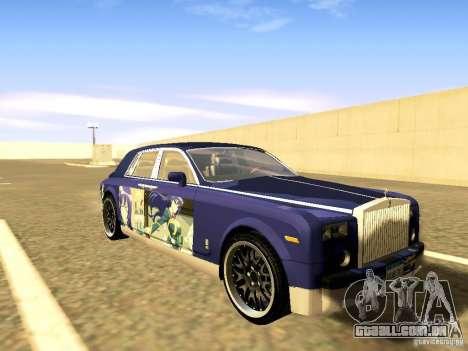 Rolls-Royce Phantom V16 para as rodas de GTA San Andreas
