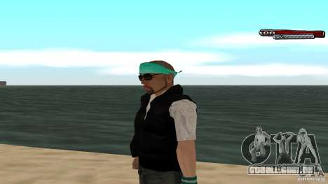 Skin Pack The Rifa Gang HD para GTA San Andreas oitavo tela