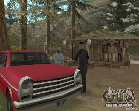 Em uma visita a vovó para GTA San Andreas