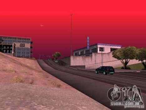 Weather manager para GTA San Andreas décimo tela