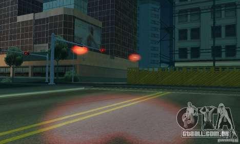 Luzes vermelhas para GTA San Andreas sexta tela