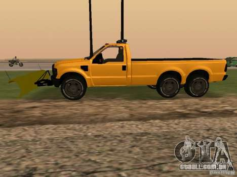 Ford Super Duty F-series para GTA San Andreas esquerda vista