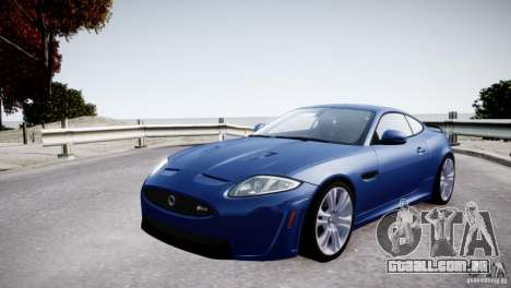 Jaguar XKR-S 2012 para GTA 4 motor