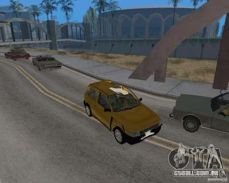 Fiat Mille Fire 1.0 2006 para GTA San Andreas vista interior