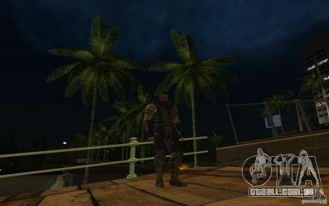 Scorpion v2.2 MK 9 para GTA San Andreas por diante tela