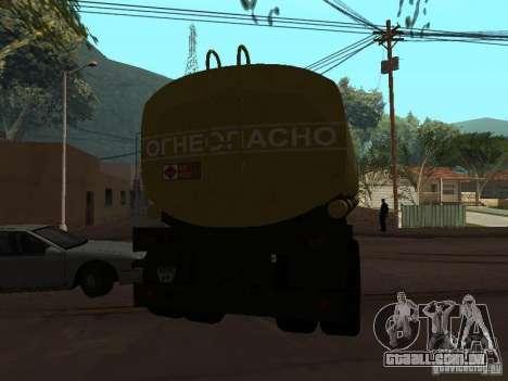 tanque PPC para GTA San Andreas traseira esquerda vista