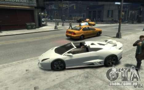 Lamborghini Reventon Roadster REDUX [EPM] para GTA 4 esquerda vista