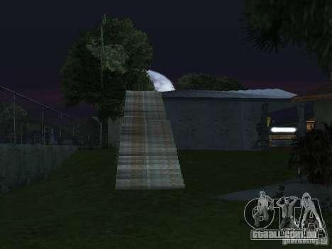 A nova Grove Street para GTA San Andreas sétima tela