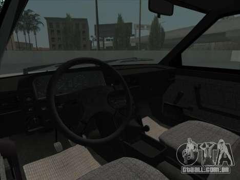 FSO Polonez Caro Orciari 1.4 GLI 16v para vista lateral GTA San Andreas