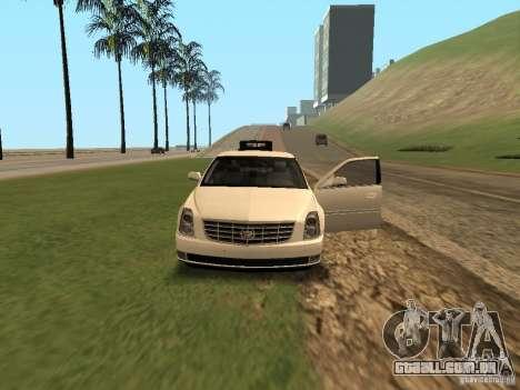 Cadillac DTS 2010 para GTA San Andreas vista interior