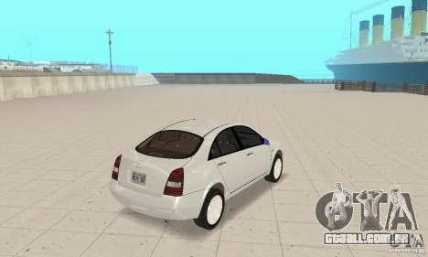 Nissan Primera para GTA San Andreas esquerda vista