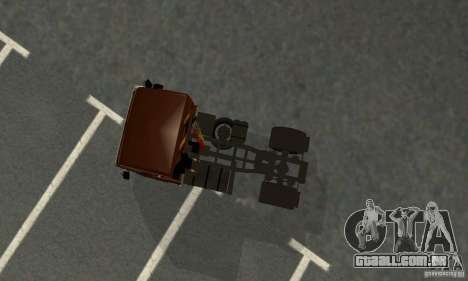 KAMAZ 5460 4 pele para GTA San Andreas vista traseira