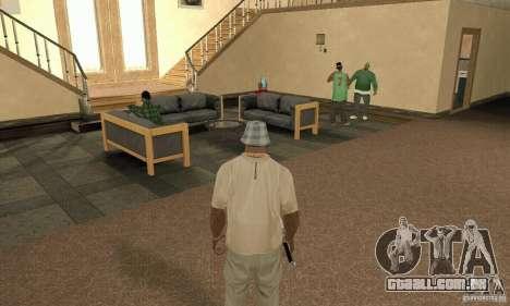 Uma Villa para GTA San Andreas quinto tela