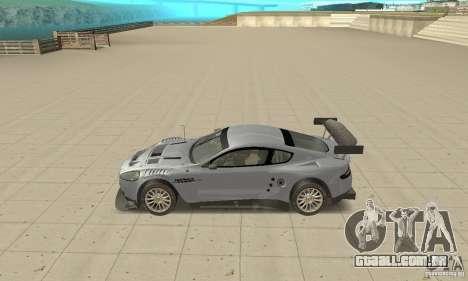 Aston Martin DBR9 (v1.0.0) para GTA San Andreas esquerda vista
