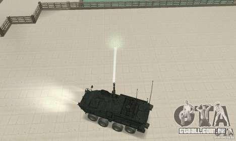 Stryker para GTA San Andreas vista direita