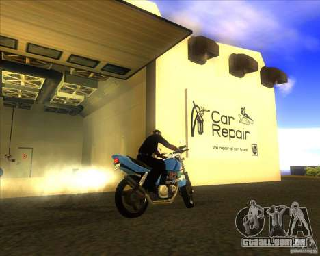 Yamaha XJR400 para GTA San Andreas vista direita