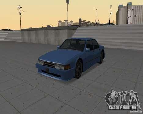 Máquinas sem sujeira para GTA San Andreas terceira tela