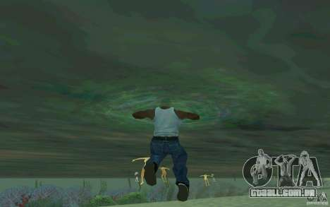 As pessoas são capazes de nadar para GTA San Andreas terceira tela