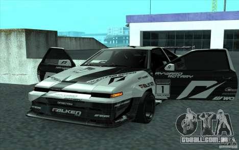 Toyota Corolla AE86 Shift 2 para GTA San Andreas vista traseira
