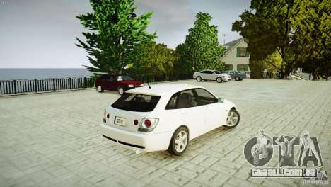 Toyota Altezza Gita Version 2 para GTA 4 esquerda vista