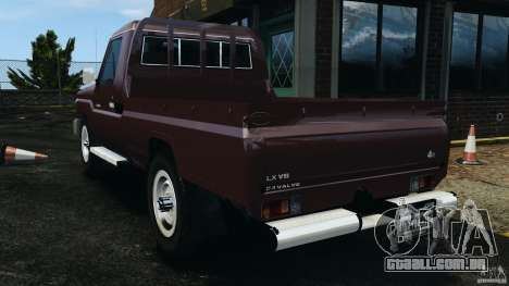Toyota Land Cruiser Pick-Up 2012 para GTA 4 esquerda vista