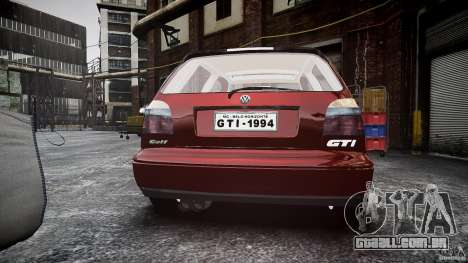 Volkswagen Golf MK3 GTI para GTA 4 vista lateral