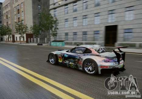 BMW Z4 GT3 2010 V.2.0 para GTA 4 vista interior