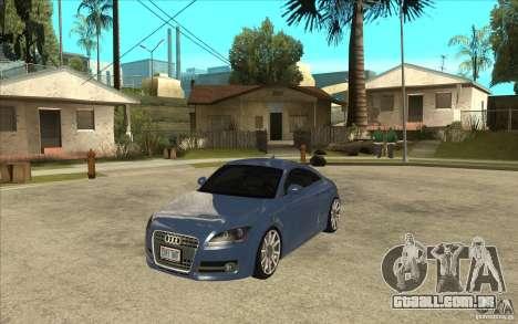 Audi TT 3.2 Coupe para GTA San Andreas