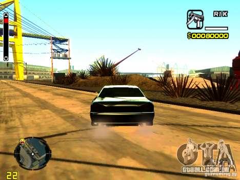 New Elegy v1 para GTA San Andreas traseira esquerda vista