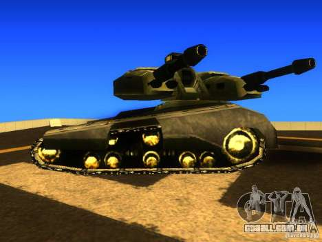 Star Wars Tank v1 para GTA San Andreas esquerda vista
