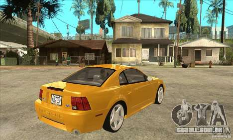Ford Mustang GT 1999 - Stock para GTA San Andreas vista direita
