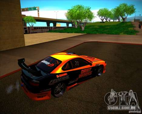 Nissan Silvia S15 Drift Works para GTA San Andreas vista direita