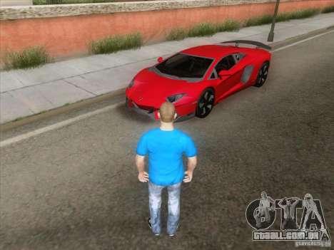 Alarme Mod v3.0 para GTA San Andreas por diante tela
