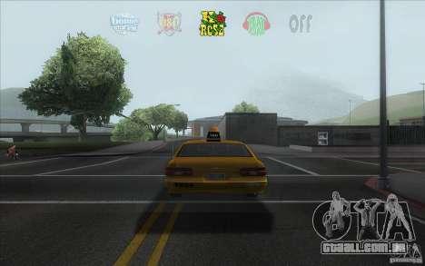 Radio Hud IV para GTA San Andreas