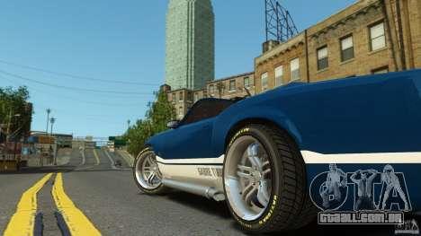 Sabre GT II Vinyl Roof para GTA 4 traseira esquerda vista