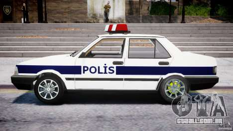 Tofas Sahin Turkish Police v1.0 para GTA 4 esquerda vista