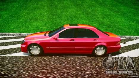 Mercedes-Benz S600 para GTA 4 esquerda vista