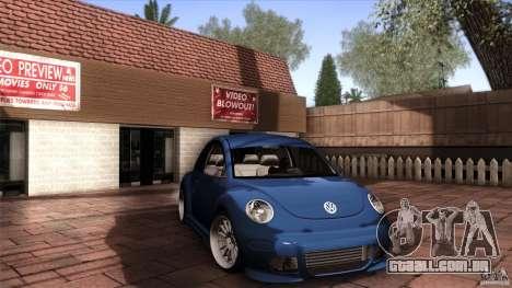 Volkswagen Beetle RSi Tuned para GTA San Andreas esquerda vista