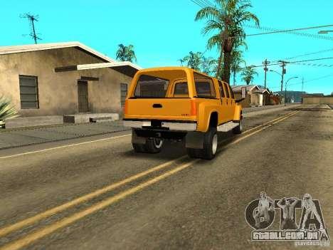 GMC TopKick para GTA San Andreas vista direita