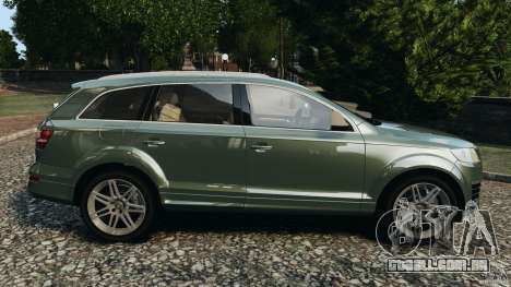 Audi Q7 V12 TDI v1.1 para GTA 4 esquerda vista