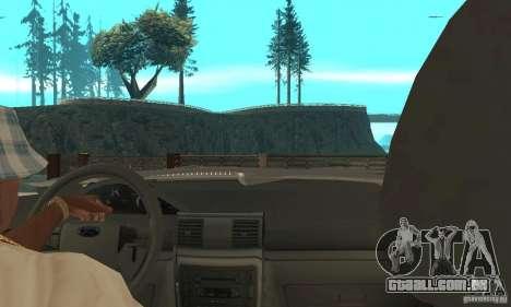 Ford Explorer 2002 para GTA San Andreas vista direita