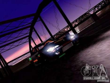 Nissan Silvia S15 Drift Works para vista lateral GTA San Andreas