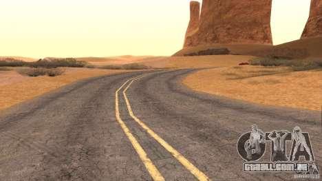 New HQ Roads para GTA San Andreas nono tela